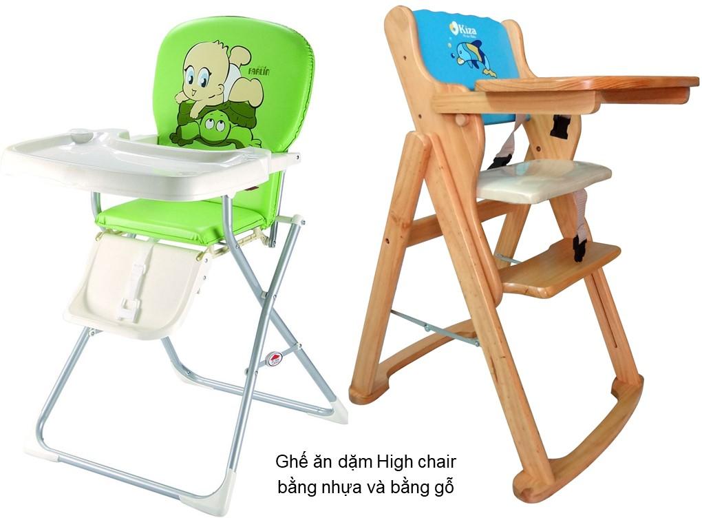 Ghế ăn dặm High chair