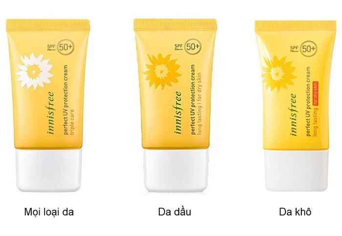 Kem chống nắng Innisfree Perfect UV Protection SPF 50+
