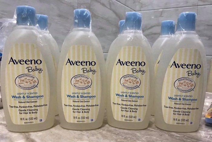 Sữa tắm Aveeno Baby wash and shampoo