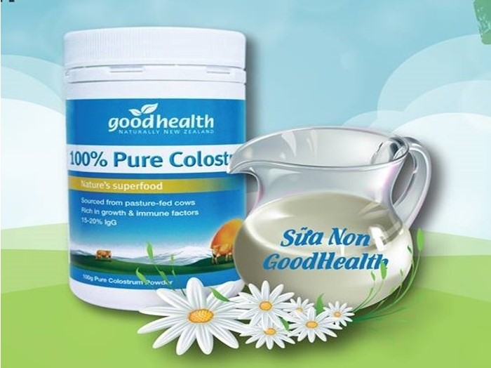 Sữa non Goodhealth naturally New Zeland